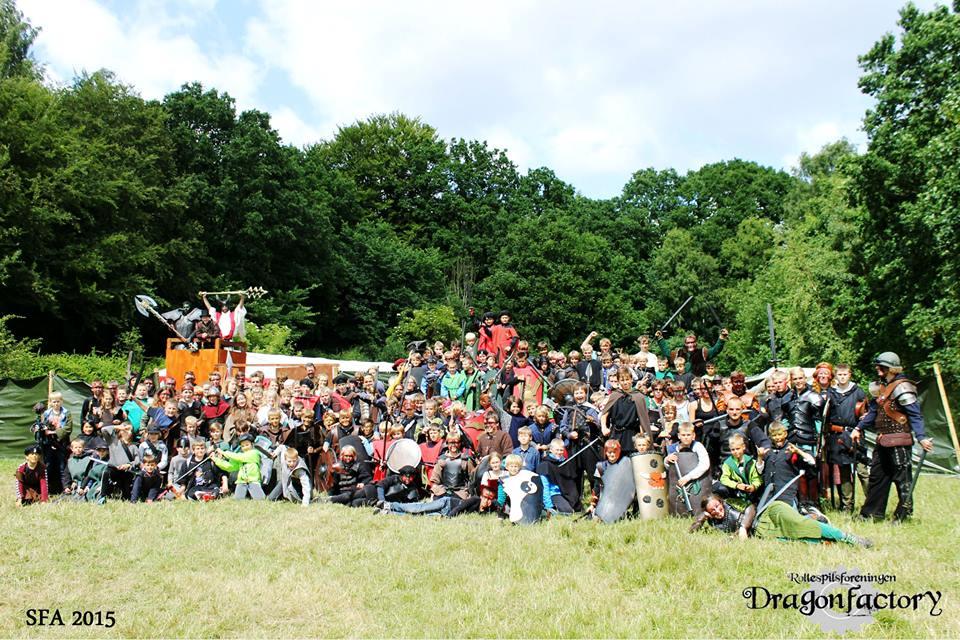 Rollespilsforeningen Dragonfactory - Junior Rollespil